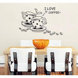 Wall Sticker - I Love Coffee
