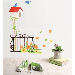 Wall Sticker - Bird House