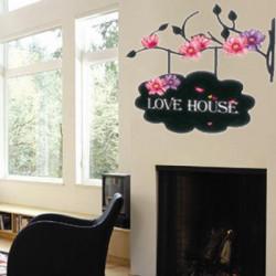 Wall Sticker - Love House