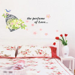 Wall Sticker - Bird Cage