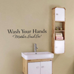Wall Sticker - Wash Your Hands