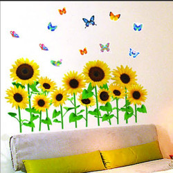 Wall Sticker - Sun Flower