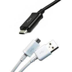 1m Micro USB laddare Samsung S4 S5 S6 S7 Nokia Note