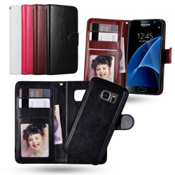 Samsung Galaxy S7 Edge - Plånboksfodral / Magnet Skal