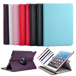 iPad Pro 12.9 - 360° Läderfodral / Skal + 3 i 1 Paket