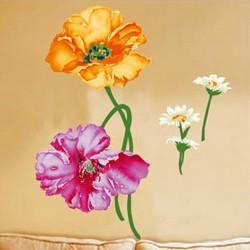Väggdekor - Stora Blommor