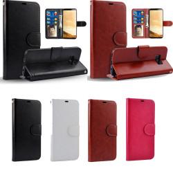 Läderfodral / Plånbok - Samsung Galaxy S8