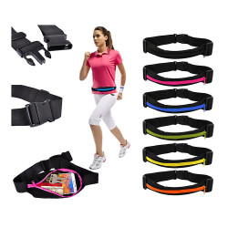 Sportbälte / Midjeväska för plånbok, nycklar, mobil etc.