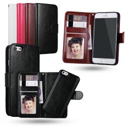 iPhone 6 / 6S - Plånboksfodral / Magnet Skal
