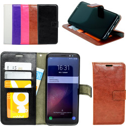 Samsung Galaxy S8 Plus - Leather Case/Wallet