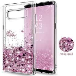 Galaxy S8 - Moving Glitter 3D Bling Phone Case