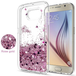 Galaxy S6 - Moving Glitter 3D Bling Phone Case