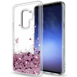 Galaxy S9 - Moving Glitter 3D Bling Phone Case