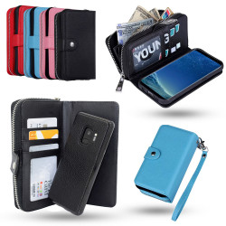 Samsung Galaxy S9 - Leather Case / Wallet