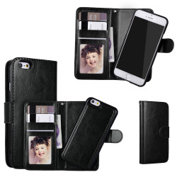 iPhone 7/8 - Plånboksfodral / Magnet Skal + Skärmskydd