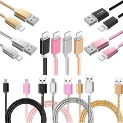 SnabbladdningsKabel - 2m - iPhone X/8/7/6S/6/5/iPad