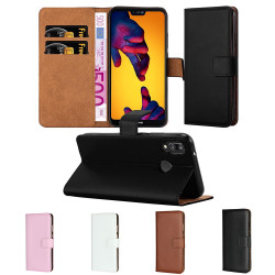 Huawei P20 Lite - Leather Case/Wallet