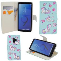 "Samsung Galaxy S9 - Plånboksfodral - ""Rosor"""