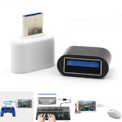 C USB OTG Adapter Converter Mouse Keyboard For Android Tablet PC Phones