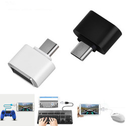 Micro USB OTG Adapter Converter Mouse Keyboard For Android Tablet PC Phones