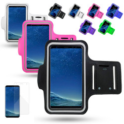 Samsung Galaxy J4 - Waterproof PU Leather Sport Arm Band Case