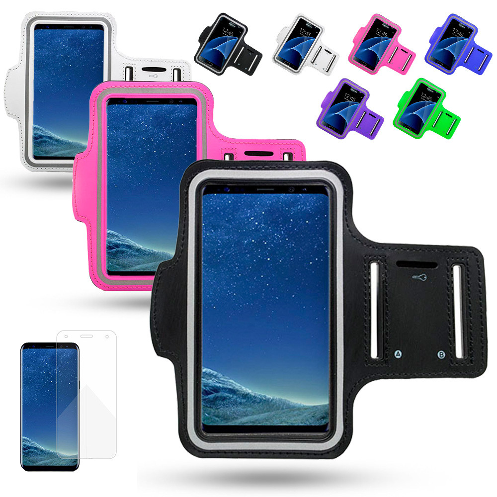 low priced 22fba 6d0c1 Samsung Galaxy J4 - Waterproof PU Leather Sport Arm Band Case