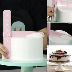Adjustable Cake Edge Spatula Cream Scraper
