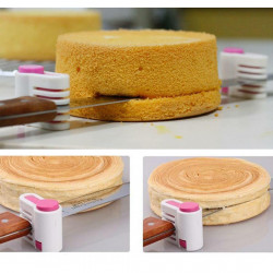 Durable Adjustable 5 Layers Cake Leveler Slicer Bread Cutter Cake