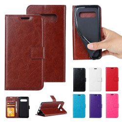 Samsung Galaxy S10e - PU Leather Wallet Case