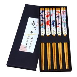 Ätpinnar - Bambu - Sushi