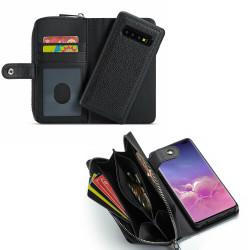 Samsung Galaxy S10 Plus - PU Leather Wallet Case