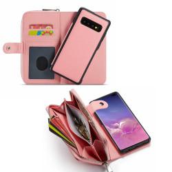 Samsung Galaxy S10 - Läderfodral / Skydd