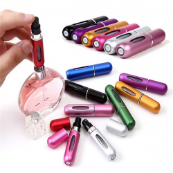 Travel Pocket Size Mini Refillable Perfume Atomizer Bottle Scent Pump Spray