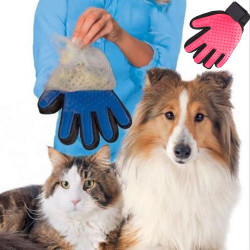 Pet Dog Cat Grooming Cleaning Magic Glove Hair Dirt Remover