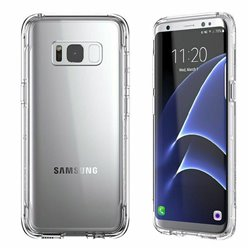 Samsung Galaxy S8 Case Protection Transparent