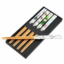 Bamboo Chopstick Chop Sticks Sushi Long Sticks