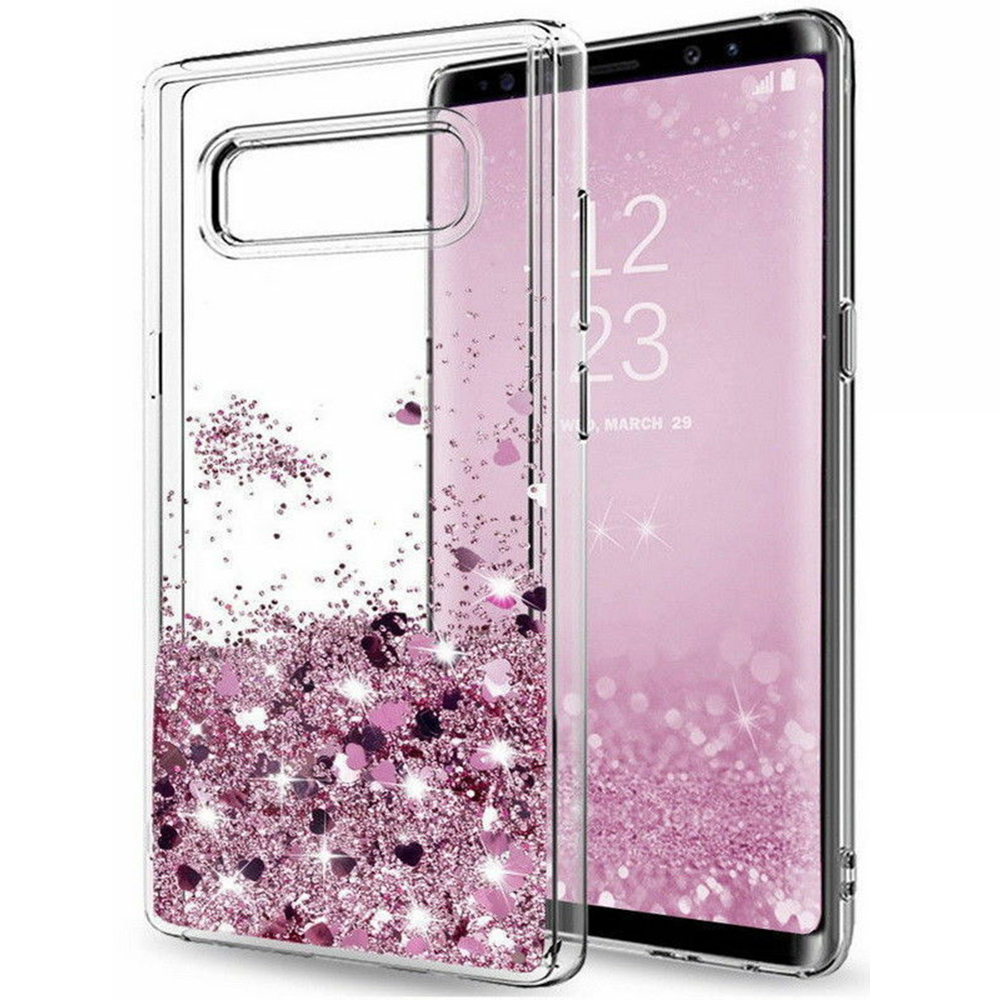 Galaxy S10 - Moving Glitter 3D Bling Phone Case