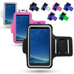 Samsung Galaxy A40 - PU Leather Sport Arm Band Case