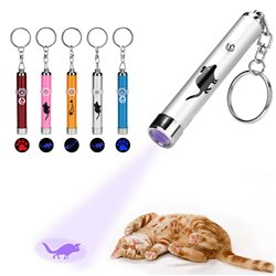 LED Training Funny Cat Play Toy Laser Pointer Pen