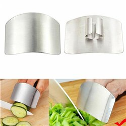 Tool Cutting Kitchen Hand Shield Stainless Steel Chop Guard