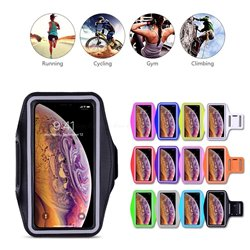 iPhone 11 Pro Max - PU Leather Sport Arm Band Case