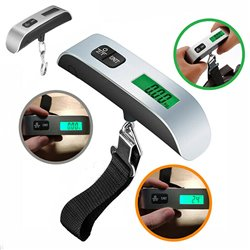 Handheld Digital Hanging Luggage Scale LCD Display Weight Travel Bag