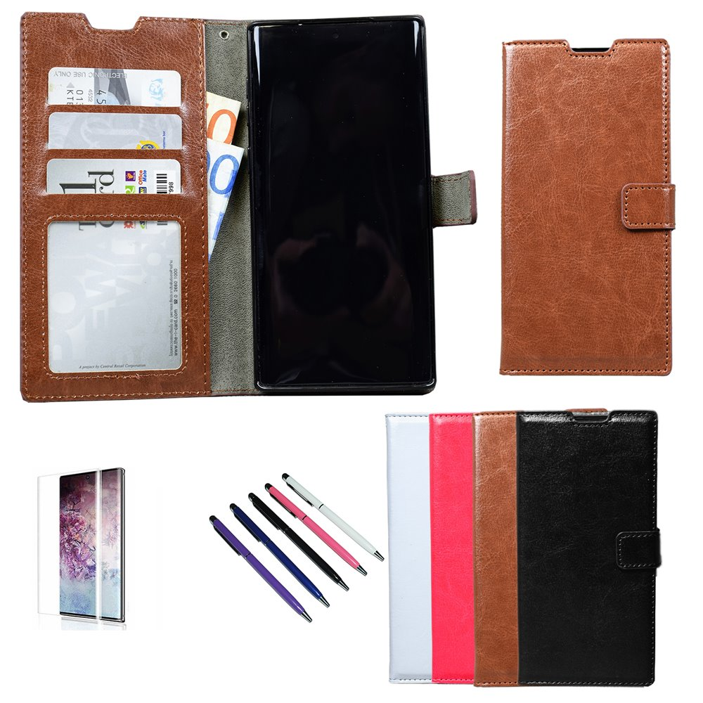 Note10 - PU Leather Wallet Case