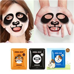 2x Animal Facial Mask Sheet Deep Moisture Face Mask