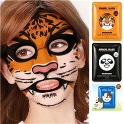 3x Animal Facial Mask Sheet Deep Moisture Face Mask