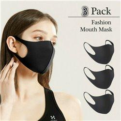 3-Pack Munskydd Ansiktsmask Andningsskydd