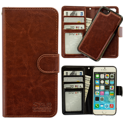 iPhone 7/8 - PU Leather Wallet Case