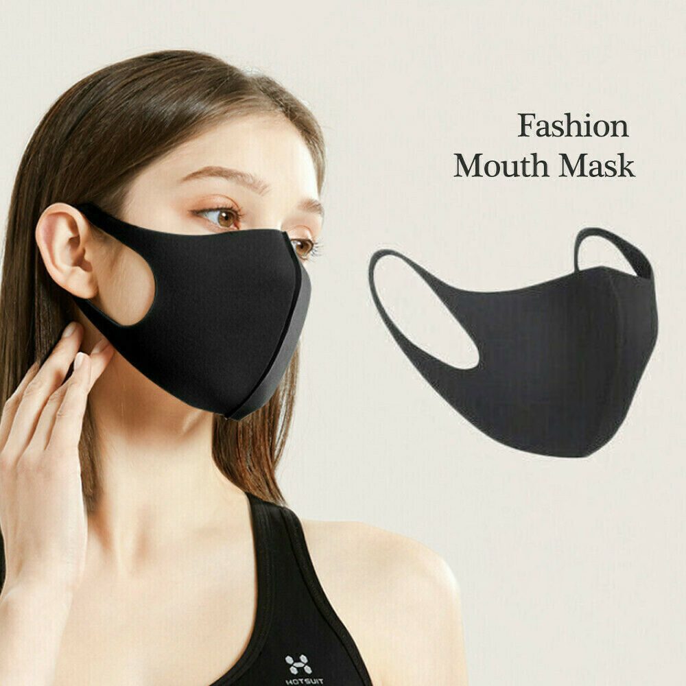 1-Pack Washable Protective Face Mask Filtration