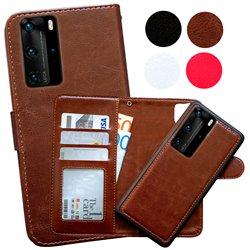 Huawei P40 Pro - PU Leather Wallet Case