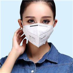 4x KN90 3M 9001V Particulate Respirator Adult  Protective Face Mask